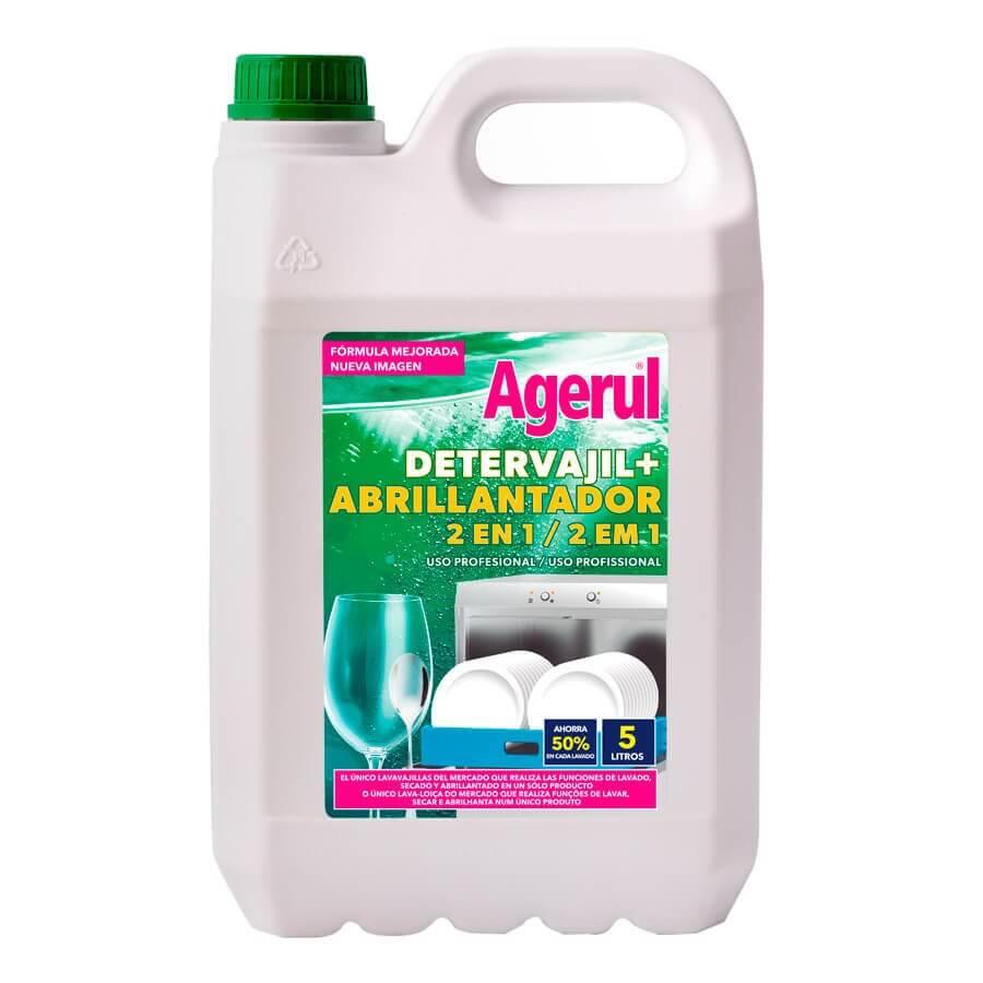 Detervajil + Abrillantador para profesioonales Agerul